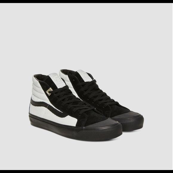 NEW Vans ALYX OG 138 High Top Black White Sneakers NWT